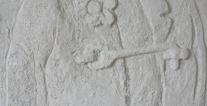 haspen, trä, väggfärg, 2005