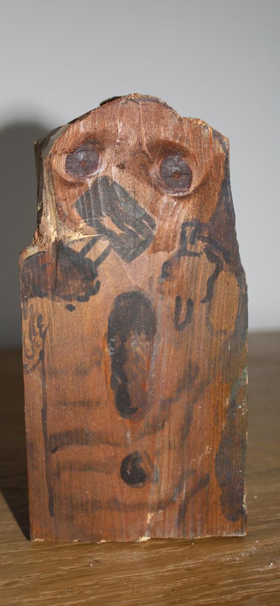 Alla kan tala, trä tusch, 2009